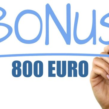 Bonus 800 euro per i collaboratori sportivi