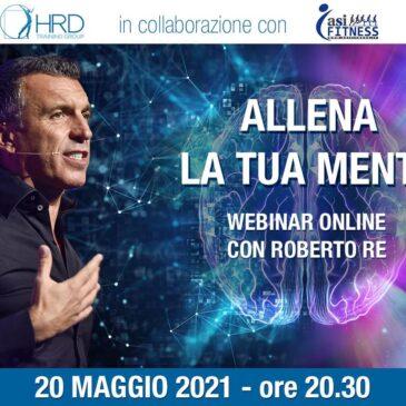 Webinar online di Roberto Re